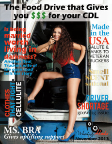 Period Panteez featured in 18 Wheels and Heels Magazine