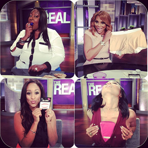 Period Panteez on The Real Talk Show