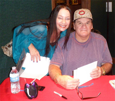 Vida Meeting with Pete Rose
