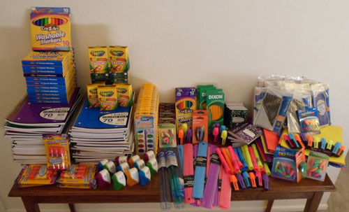 Period Panteez 1st Annual School Supplies Donation