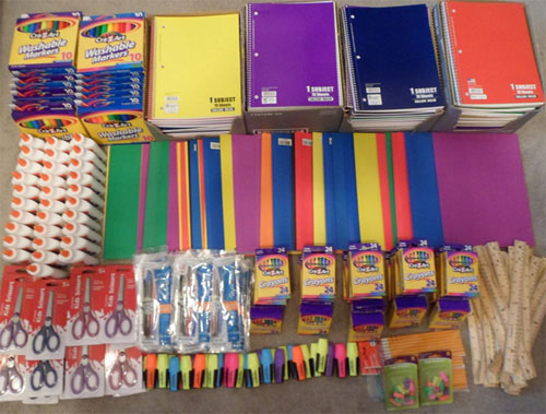 Period Panteez 2nd Annual School Supplies Donation