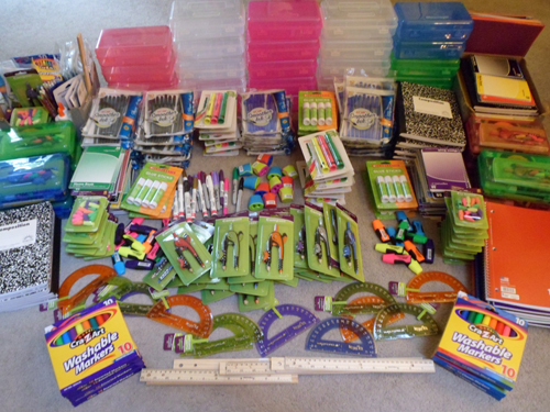 Period Panteez 3rd Annual School Supplies Donation